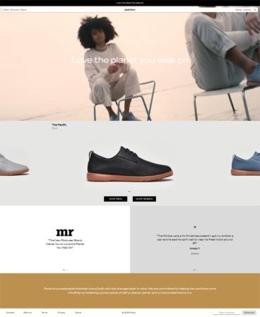eCommerce website: Ponto