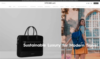 eCommerce website: Svenklas