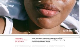 eCommerce website: ISLA