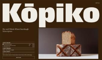 eCommerce website: KŌPIKO