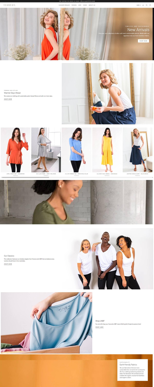 eCommerce website: Terrera