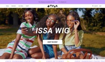 eCommerce website: Waeve
