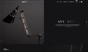 eCommerce website: Anti