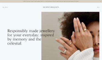 eCommerce website: Behind Bracken