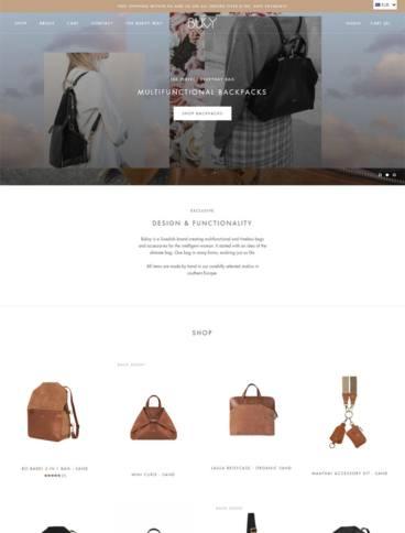 eCommerce website: Bukvy
