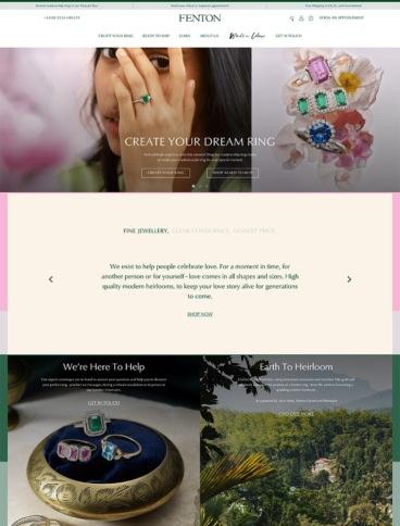 eCommerce website: Fenton