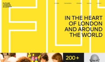 eCommerce website: Future London Academy