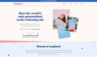 eCommerce website: Laughland
