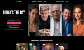 eCommerce website: MasterClass