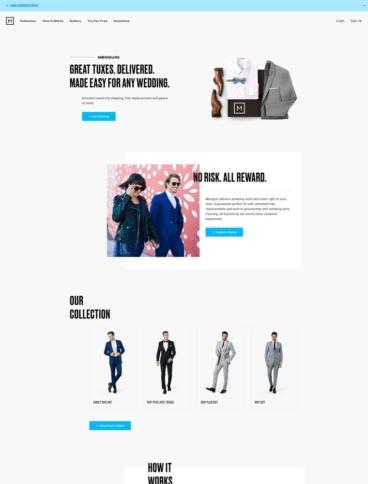 eCommerce website: Menguin
