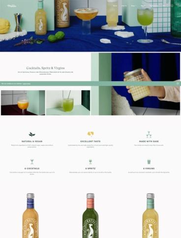 eCommerce website: Mikks