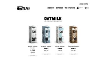 eCommerce website: Oatly