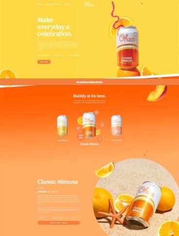 eCommerce website: Ohza