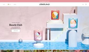 eCommerce website: Otherland