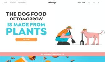 eCommerce website: Petaluma