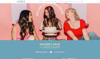 eCommerce website: TruFru