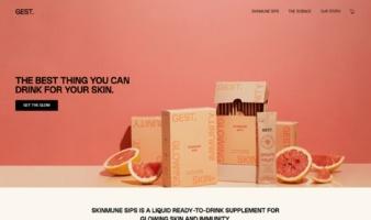 eCommerce website: GEST