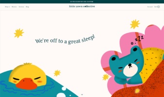 eCommerce website: Little Yawn Collective
