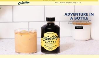 eCommerce website: OneBy