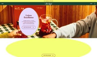 eCommerce website: Viledge