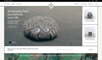 eCommerce website: ZZ Driggs