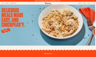eCommerce website: Banza