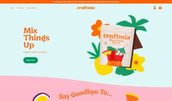 eCommerce website: Craftmix
