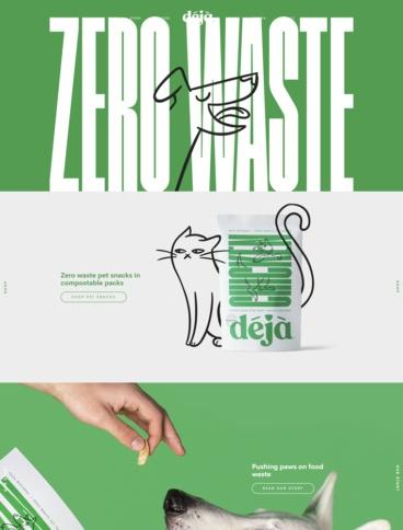 eCommerce website: Deja Pet Food