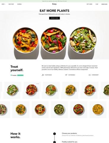 eCommerce website: Every-Foods
