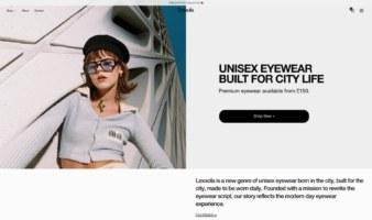 eCommerce website: Lexxola