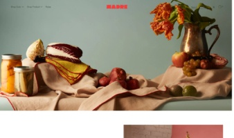 eCommerce website: Madre