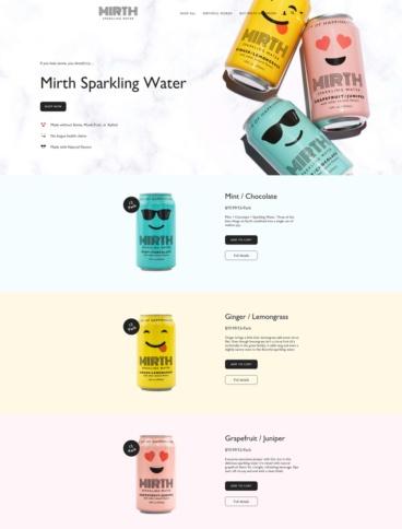 eCommerce website: Mirth