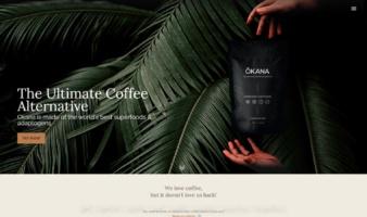 eCommerce website: Okana