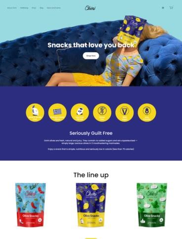 eCommerce website: Ovini