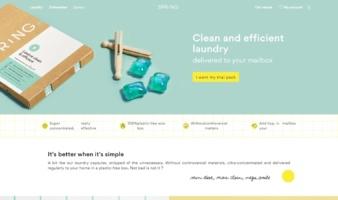 eCommerce website: Spring