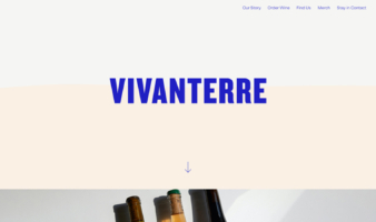 eCommerce website: Vivanterre