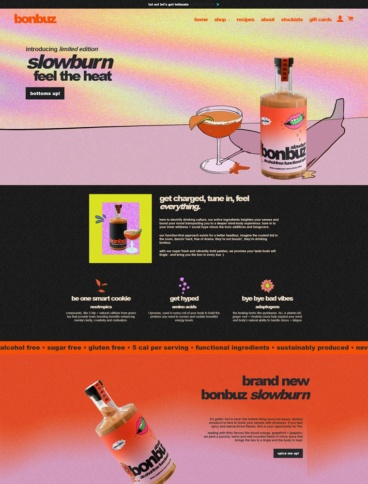 eCommerce website: Bonbuz