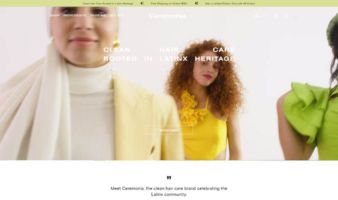 eCommerce website: Ceremonia