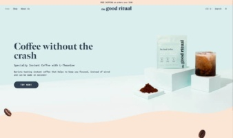 eCommerce website: the good ritual