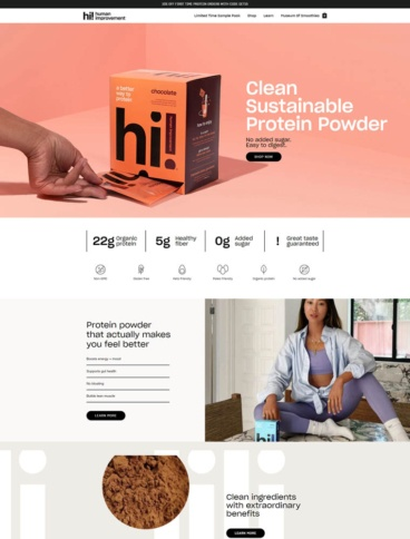 eCommerce website: Human Improvement