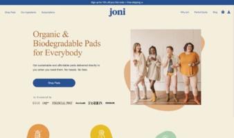eCommerce website: Joni