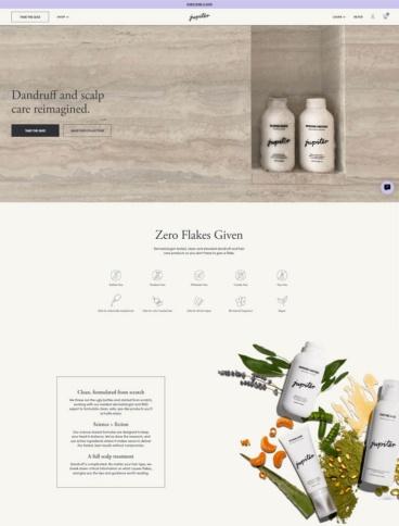 eCommerce website: Jupiter