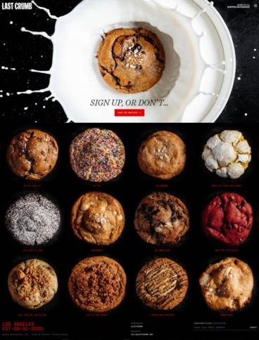 eCommerce website: Last Crumb