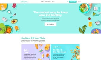 eCommerce website: Little Spoon