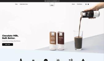 eCommerce website: Slate Milk